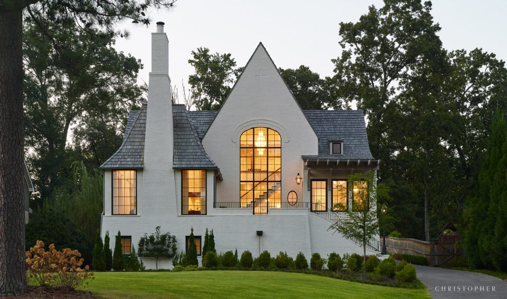 Light Filled Tudor Revival Cottage Christopher Architecture and Interiors